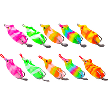 OBSESSION Artificial Soft Lure Frog 14g 6cm Frogbaits With Spinner Top Water Fishing Wobblers