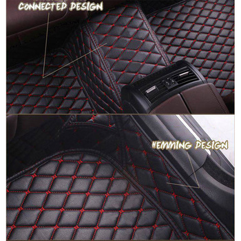 Leather Custom Auto car floor Foot mat For audi a3 sportback a5 sportback tt mk1 A1 A2 A3 A4 A5 A6 A7 A8 Q3 Q5 Q7 S4 S5 S8 RS