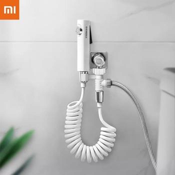 Nowy Xiaomi Youpin Handheld toaleta pod ciśnieniem Flusher Bidet opryskiwacz zestaw prysznic dysza wodna głowica rozpylająca mycia ciała Butt czyszczenia tanie i dobre opinie NONE CN (pochodzenie) Gotowa do działania WEJŚCIE 2 KANAŁY Handheld Spray Handheld Spray for Toilet new arrive