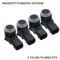 4pcs PSA9663821577 Car PDC Sensor De Estacionamento Para Peugeot 307 308 407 Parceiro Rcz Citroen C4 C5 C6 9663821577 9663821577XT 6590A5