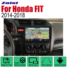 ZaiXi Auto Player GPS Navigation For Honda FIT JAZZ 2014~2018 Car Android Multimedia System Screen Radio Stereo auto player gps navigation for honda city 2014 2019 car android multimedia system screen radio stereo