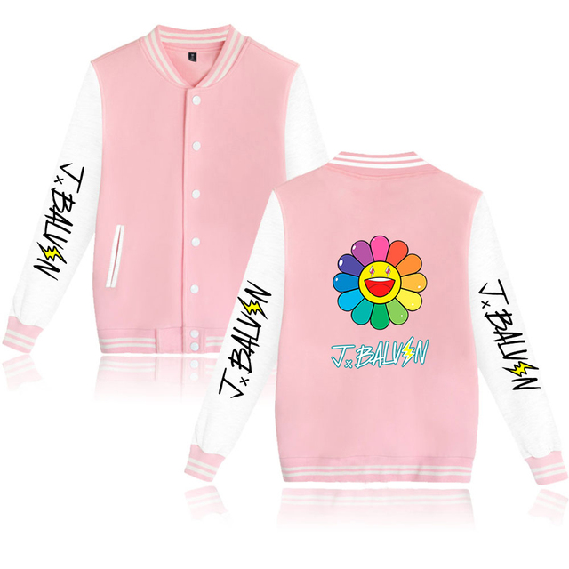 J BALVIN THEMED BASEBALL JACKET (20 VARIAN)