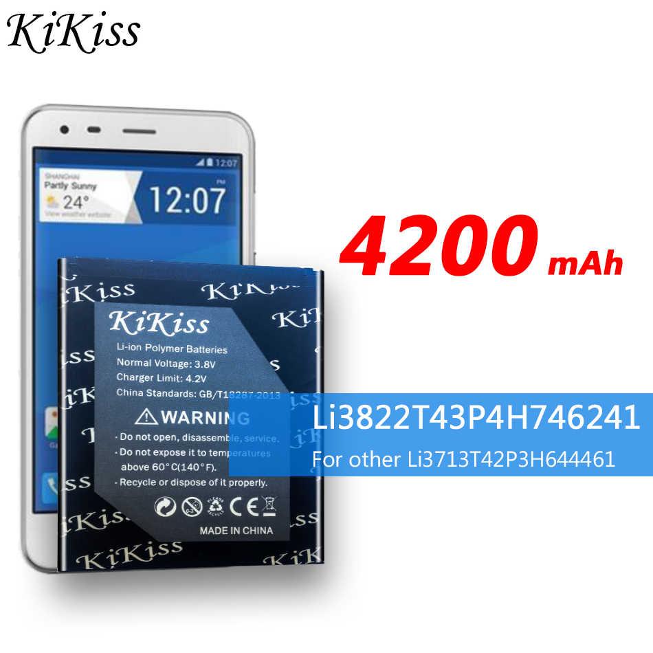 4200mAh بطارية عالية السعة ل ZTE Blade L4 Pro / TWM مذهلة X3s A465 A475 بطارية الهاتف المحمول Li3822T43P4H746241