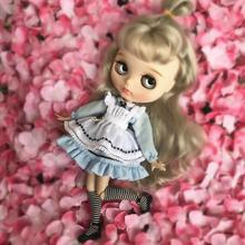 цены 4pcs/lot handmade dress suitable for joint Doll for licca azone ob27 OB24 OB11Dress skirt