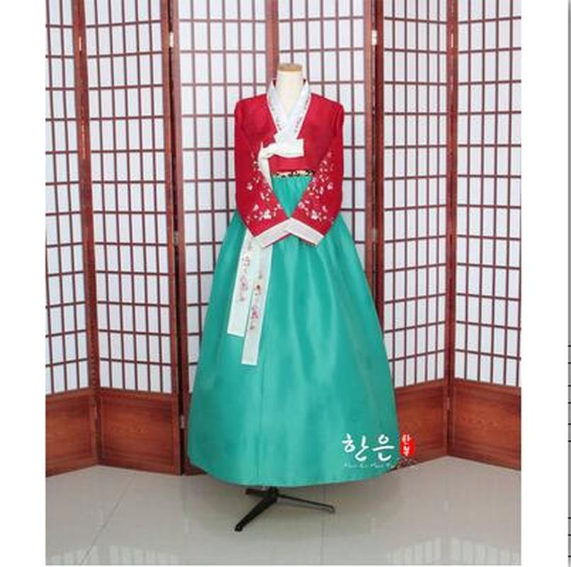 Korea Imported Fabric / New Improved Hanbok / Stage Hanbok / Fine Hanbok  Korean Fashion Clothing