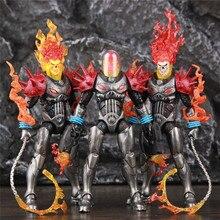 """מקורי ML אגדות קוסמי Ghost Rider 6 """"פעולה איור אש שוט ללא אופנוע מרכב סט רוכבים סדרת צעצועים בובה"""