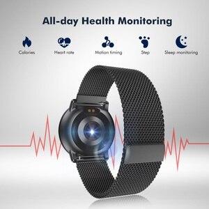 "Image 5 - Uwatch2 Smart Watch 1.33"" IPS 240*240 Display BT4.0 Fitness Pedometer Calorie Smart Timer Heart Rate Sleep Monitori Wristwatch"