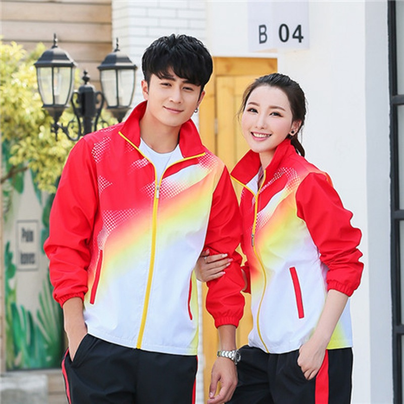 Spring And Autumn School Uniform Sports Clothing Set Junior High School Students Business Attire Men And Women Long Sleeve Trous