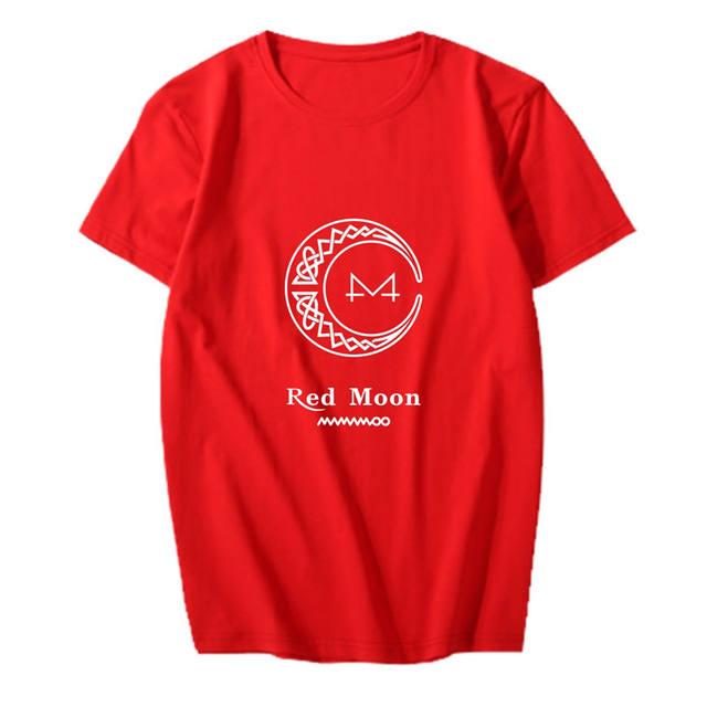 RED MOON MAMAMOO T-SHIRT (5 VARIAN)