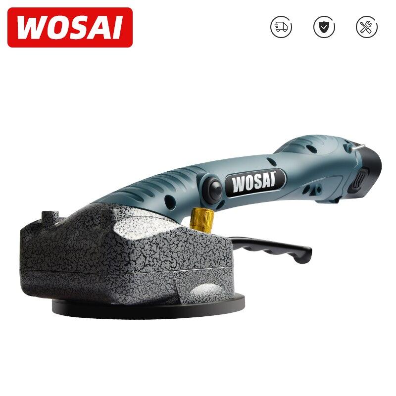 WOSAI 무선 타일 설치 휴대용 스마트 타일 타일러 바닥 Vitero 벽 타일 진동 기계 벽돌 벽 타일 도구