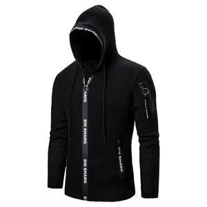 Зимний свитер для мужчин 2020, повседневная мужская верхняя одежда, тонкие вязаные свитера