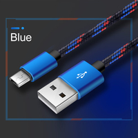 cable samsung Fashion Aluminum Alloy 2A Phone Charging Cable Nylon Braided Data Cable For Samsung Huawei Xiaomi Android Phone Accessories (5)