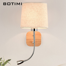 Lampshade Reading Sconce With