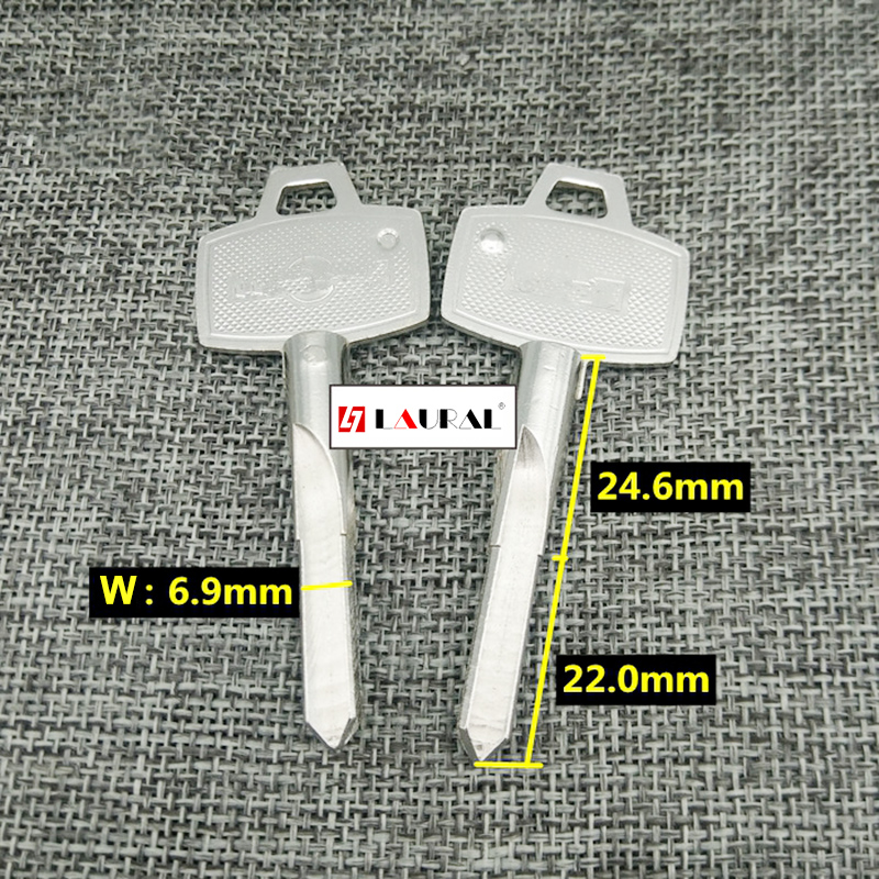 Best Quality  Lock Cylinder House Home Cross Door Key Blanks Locksmith Supplies Blank Keys 20 Pcs/lot