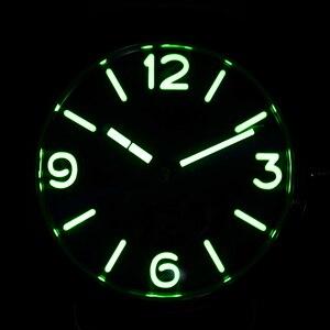 Image 5 - San Martin Bronze Watches Business Casual Simple Mens Quartz Watch Holvin Leather Strap Relojes Luminous 200m Water Resistant