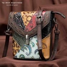 Genuine Leather Bag Women Luxury Shoulder Ladies Small