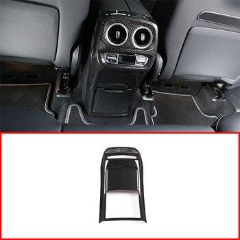 Para Mercedes Benz G class W463 G350 G400 G500 G55 G63 ABS plástico ventilación de aire acondicionado trasero moldura de cubierta de Marco accesorios de coche
