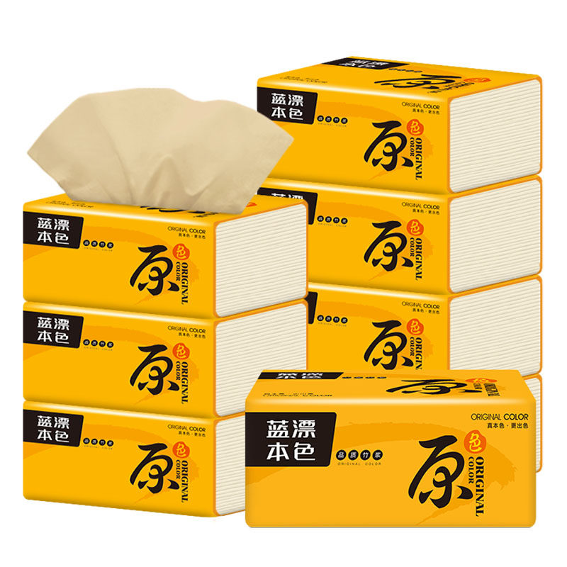 240 Sheets Draw Napkin Original Color Tissue Paper Soft Toilet Paper Easily Soluble 3Ply Towel Facial Tissue Paper Safe To Use