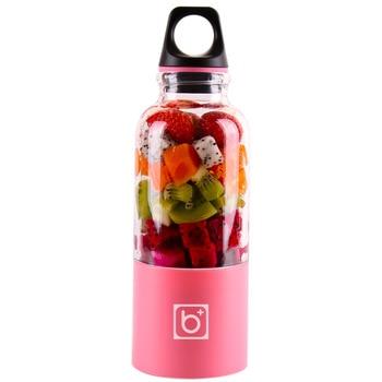 500ML Orange Juicer Electric Fruit Citrus Juice Maker USB Portable Blender Blender Bottle Lemon Juicer Random Color 1