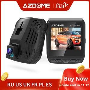 Image 1 - AZDOME DAB211 Ambarella A12 2560x1440P Super HD Auto DVR Armaturenbrett kamera Video Recorder Loop Aufnahme Dash Cam nachtsicht GPS