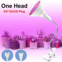 WENNI Full Spectrum LED E27 Grow Light Bulb Plant LED Light Hydroponics Lighting Phyto Lamp Greenhouse Growth LED Bulbs Seedling