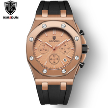 Mens Watches Top Luxury Brand Men Rose Gold Unique Sports Watch Mens Quartz Date Clock Waterproof Wrist Watch Relogio Masculino