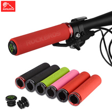 Sponge Bicycle Handlebar Grips MTB BMX Road Bike Grips Bar End Anti slip Lock ON Mountain Bike Handle Bicycle Grips Cycling