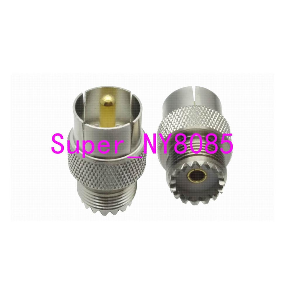 1pce Slide-on push-on N Male Plug to N Female Jack RF Coax Adapter Connector