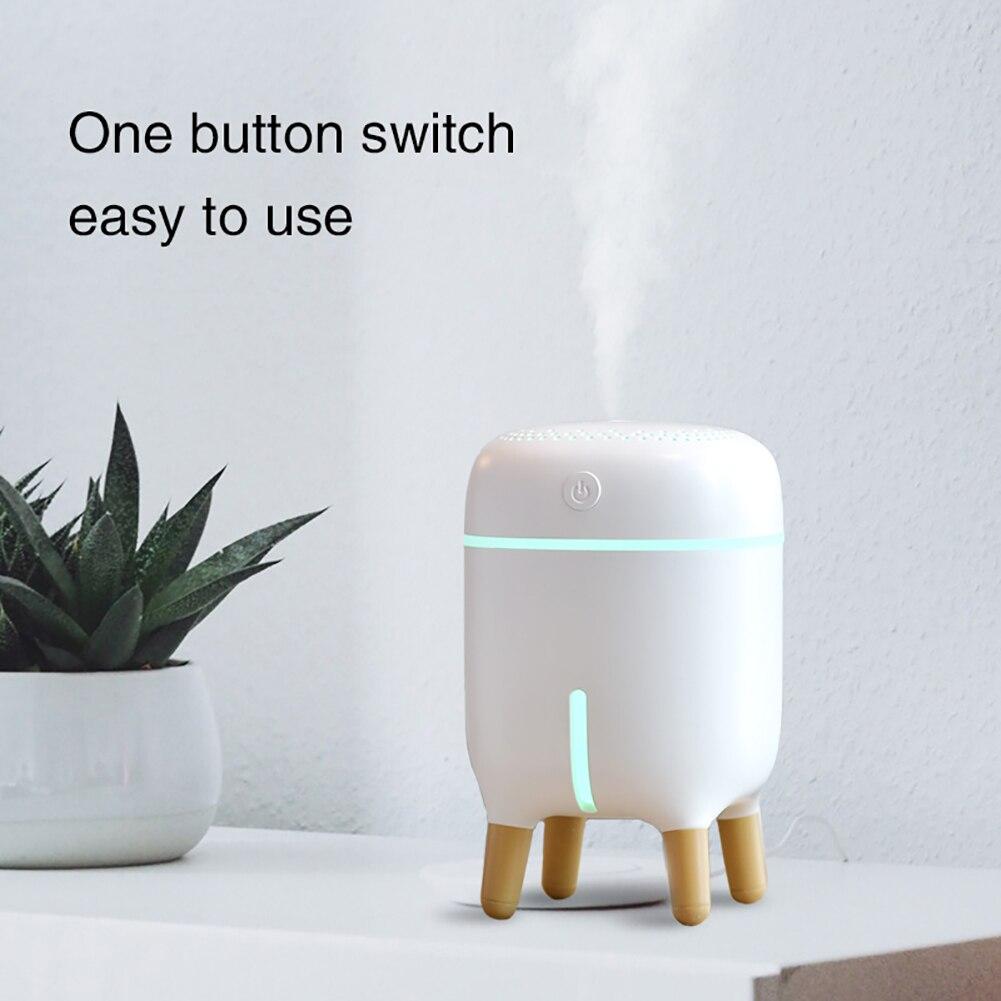 US $20.20 20% OFFMini Luftbefeuchter USB Kühlen Nebel luftbefeuchter Für  Schreibtisch Schlafzimmer Home Büro Pflanzen Auto Abschaltung 20 Farbe LED
