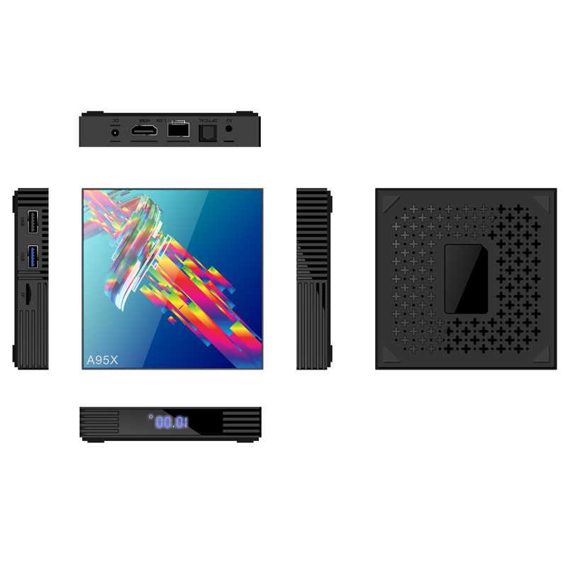 A95X R3 Smart Android 9.0 Tv Box Mi ni IPTV Set Top Box RK3318 2.4G&5G Double WIFI 4 K 3 D Quad Core media playe 2G 4G 32G 64G