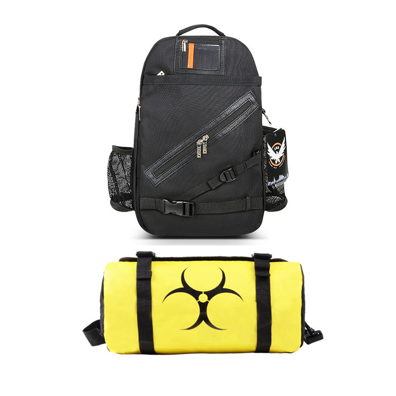 New Arrivals Men's Cartoon Division Travel College Rucksack Shoulder Bag Cosplay Shoulder Crossbody Bags School Bags