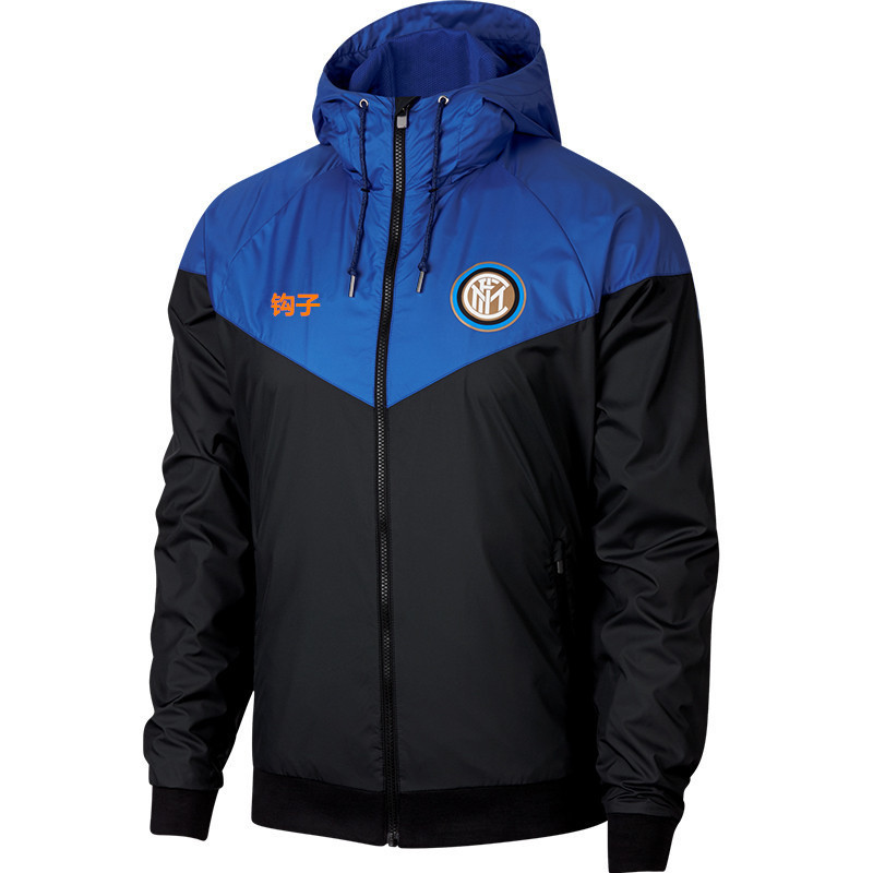 Zui High Version Inter Milan Football Uniform Men's Sports Trench Coat