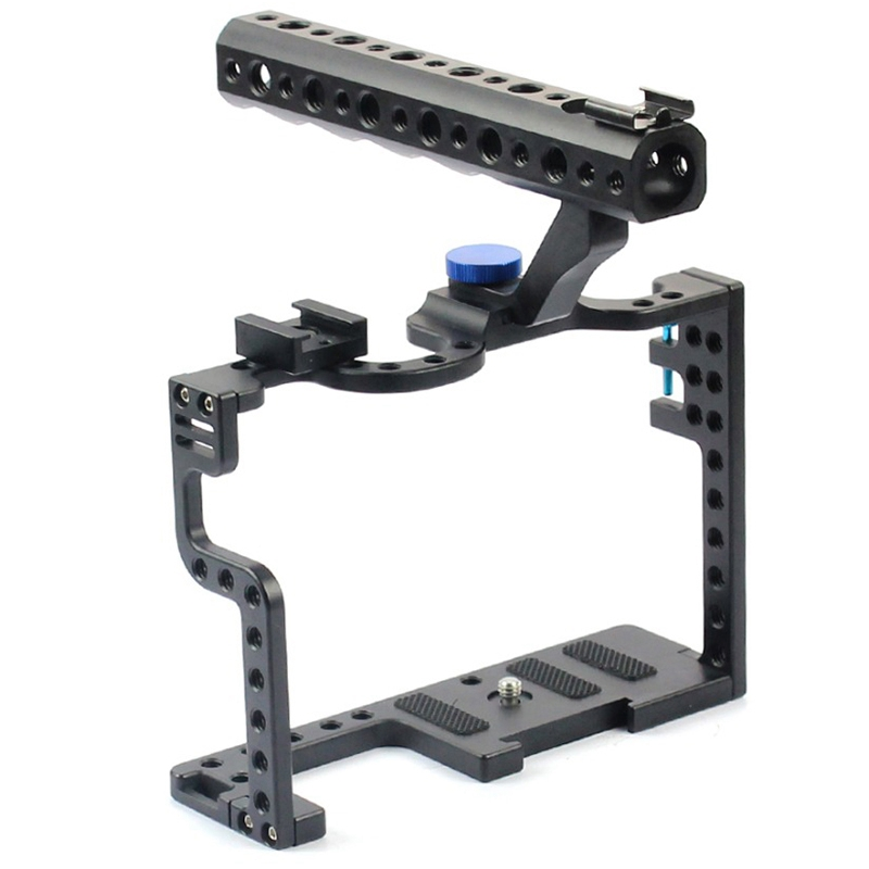 Photographic Camera Protecting Case Slr Portable Stabilizer Mount With Top Handle Grip For Panasonic Lumix Gh5/<font><b>Gh5S</b></font> Camera Photo image