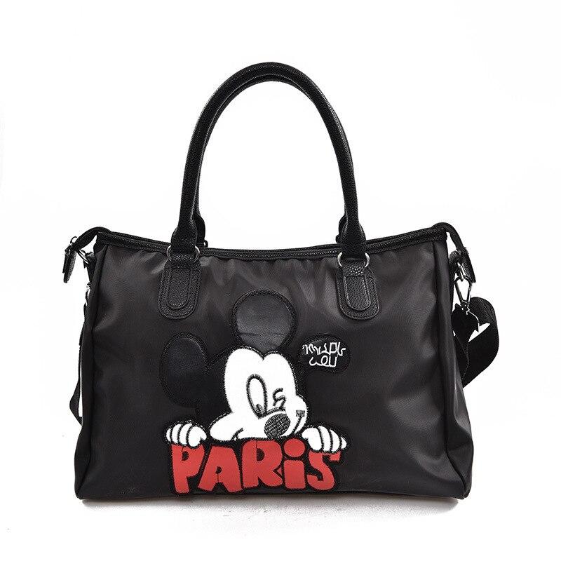 disney mickey mouse a prova dwaterproof agua saco dos desenhos animados bolsa de ombro estudante saco