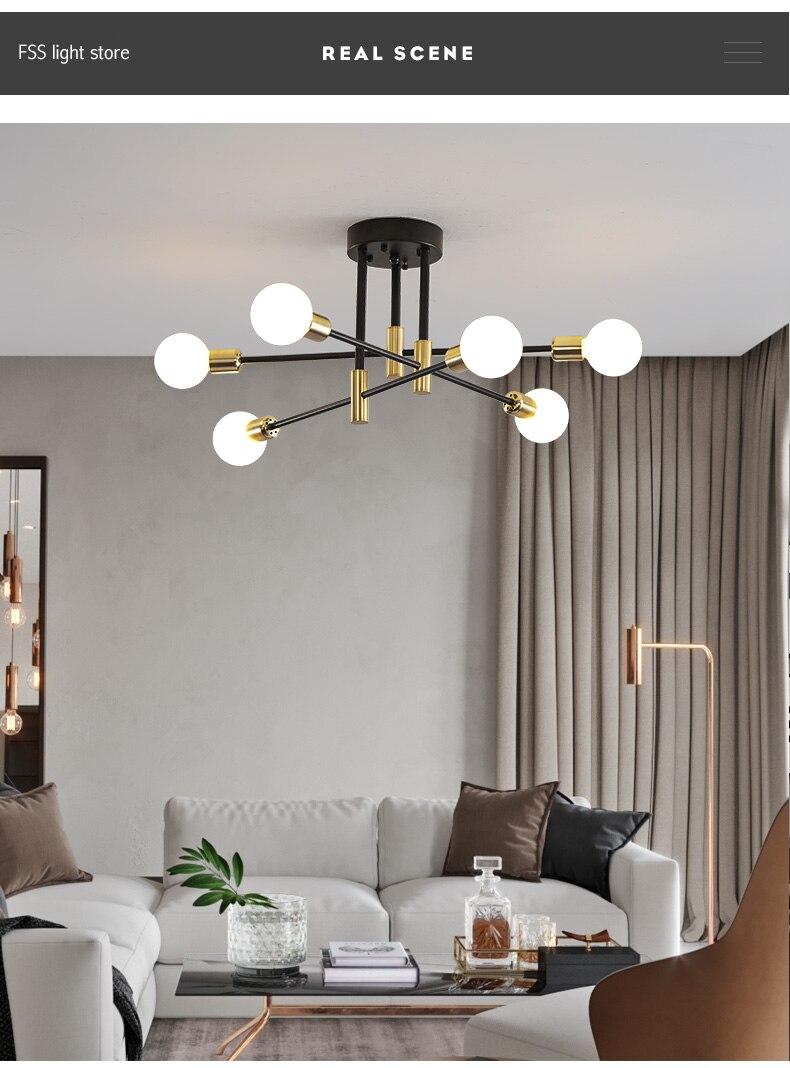 modern sputnik light