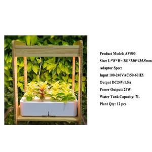 Image 4 - Лампа полного спектра для выращивания растений, комнатное гидропонное соляное оборудование для теплиц и цветов