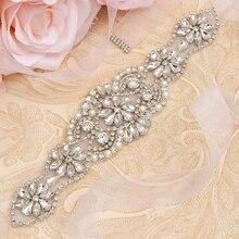 MissRDress, серебряные стразы, пояс для невесты, кристалл, жемчуг, ленты, свадебный пояс, пояс для невесты, платья для подружек невесты, JK910