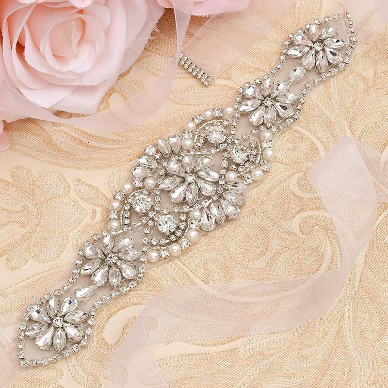 8 Row Full Crystal Diamante Strass Ceinture Pour Femmes Western Robe decor