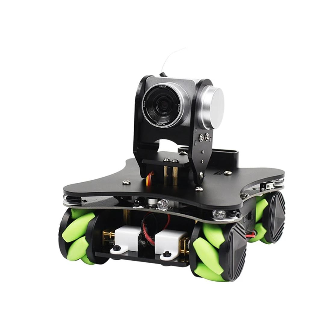 WiFi AI caméra FPV IR capteur infrarouge voiture Robot intelligente avec roue Mecanum pour Arduino (pas de batterie/avec 2 18650 Batteries)