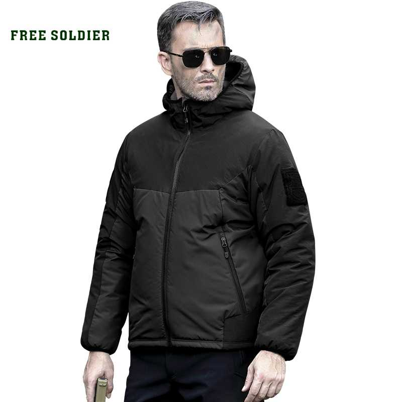 FREE SOLDIER outdoor sports camping hiking waterproof windproof men's jacket
