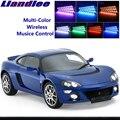 LiandLee автомобиль светящийся внутренний пол декоративные сиденья акцент окружающий неоновый свет для Lotus New Europa S 2006 ~ 2010