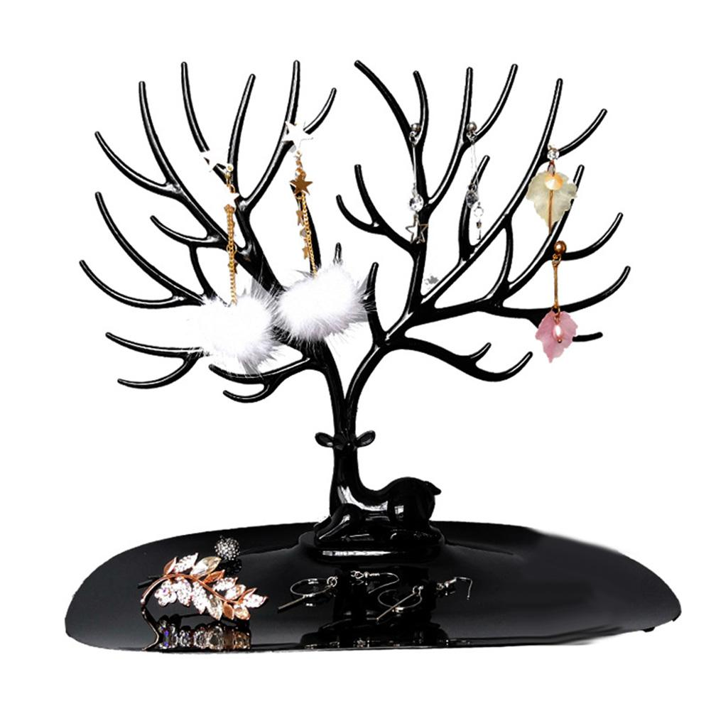Jewelry Stand Display Necklace Earrings Rings Deer Organizer Holder Show Rack Gift Home Storage Decoration Jewelry Holder