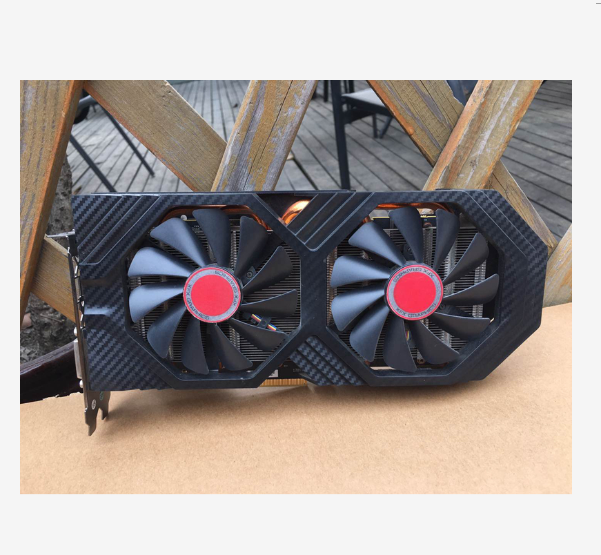 XFX RX 580 4GB 256bit GDDR5 desktop pc gaming graphics cards video card not mining 580 4G Used|Graphics Cards| - AliExpress