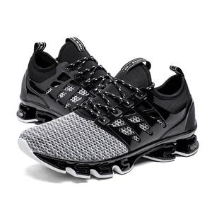 Image 2 - Skreneds Mode Mannen Loopschoenen Ademend Sneakers Mannelijke Casualcomfortable Jogging Schoenen Sportschoenen Mannen