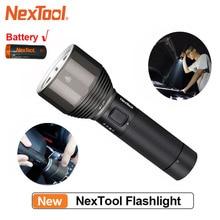 NexTool перезаряжаемый флэш светильник 2000lm 380m 5 режимов IPX7 водонепроницаемый светодиодный светильник Type C фонарь для кемпинга