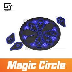 Magie Kreis room escape spiel prop setzen alle stücke in eins zu eins beziehung zu entsperren mit licht wirkung adventurer spiel prop