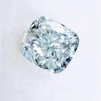 Beautiful GIA Diamond For Jewelry Making 1.55ct VS2 Fancy Light Bluish Green Natural Loose Diamond 2