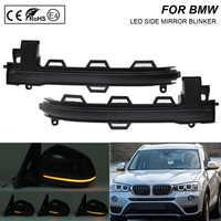 2X Rauch flash LED Dynamische Spiegel Blinker Licht Blinker Lampe Für BMW 5 Series F07 F10 F11 F12 F13 f01 F02 F03 F06