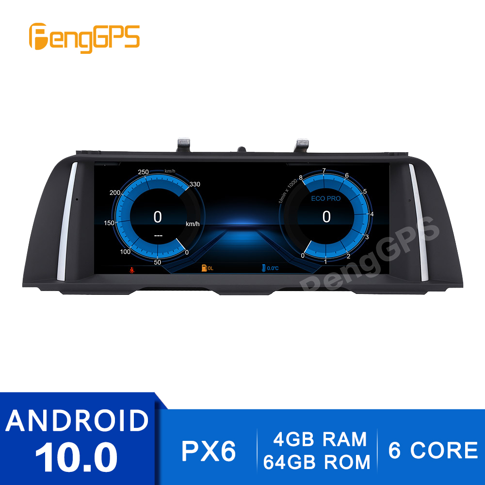 Car Multimedia Player for <font><b>BMW</b></font> 5 Series <font><b>F10</b></font> F11 2013-2016 with NBT DVD Touchscreen Headunit Stereo <font><b>Android</b></font> 10.0 Mirror Link OBD2 image