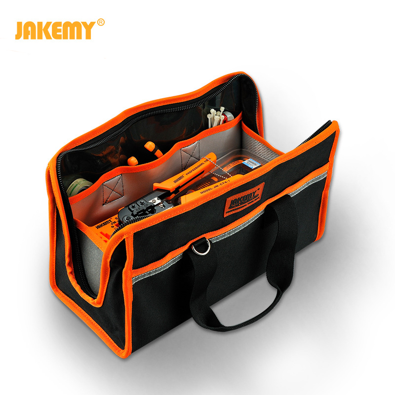 JM-B02 Good Tool Bags Hand Tools Kit Professional Electrician Hardware Bag 36*16*21cm